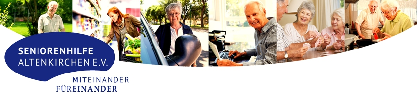 Seniorenhilfe Altenkirchen - Wir sind für Sie da...